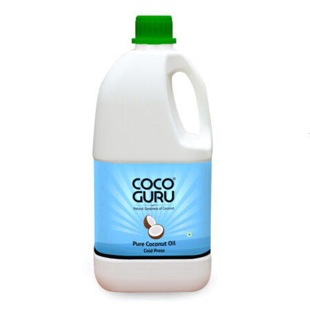 Cold Pressed Coconut Oil Jerry Can 2 Litre